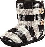 UGG Kids Baby Girl's Purl Pine (Infant/Toddler) Black Boot SM (US 2-3 Infant) M
