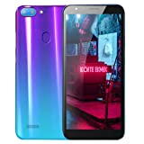 Unlocked Smartphone,2019 New5.5''Ultrathin Android 6.0 Octa-Core 512MB+4G GSM WiFi Dual Mobile Phone Cell Phone (Purple) (Color: Purple)