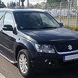 Trittbretter f�r Suzuki Grand Vitara ab Bj 05 auch Facelift ab Bj 12 mit T�V/ABE Bescheinigung (aus Aluminium) | Sidestep Seitenschweller Trittleisten
