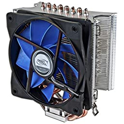 Logisys ICE WIND Intel Core i3 / i5 / i7 Socket 1156 / 1155 / 1151 / 1150 & AMD Socket FM2+ / AM3+ / AM2+ With 4-Pin Connector CPU Cooler With Aluminum Heatsink & 4.72-Inch Fan For Desktop PC Computer