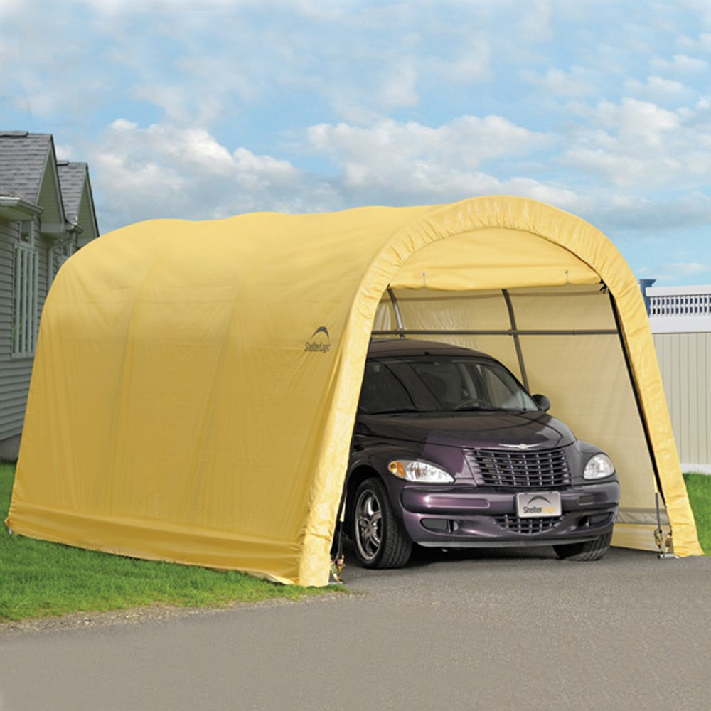 Outdoor Car Garage Storage Portable Canopy Shelter Carport ...