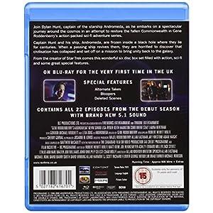 Andromeda-Season 1 [Blu-ray] [Import anglais]