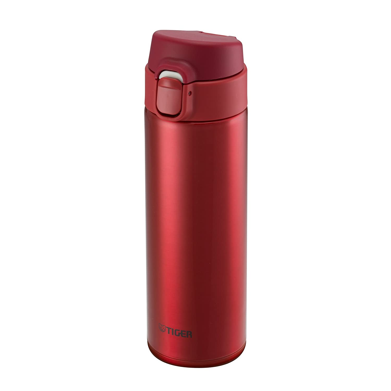 Tiger MMY-A048-RY Stainless Steel Vacuum Insulated Travel Mug, 16-Ounce, Red