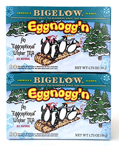Bigelow Eggnogg'N Tea, 1.73 Ounce Box (Pack Of 2)