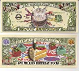 Happy Bithday $Million Dollar$ Novelty Bill Collectible