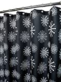 Park B. Smith Stardust Shower Curtain, Black/White