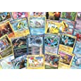 100 Assorted Pokemon Cards with Foils & Bonus Mew Promo!
