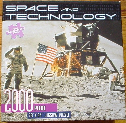 Space and Technology 2000 Piece Jigsaw Puzzle