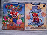 img - for 2x Versus Books SUPER MARIO ADVANCE Vol 26 + Super Mario SUNSHINE Vol 43 Perfect Guide (Versus Books Perfect Guide) book / textbook / text book