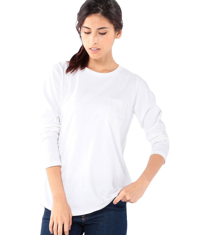 Amazon.co.jp: (コーエン) COEN USAコットンポケットロングTシャツ: 服&ファッション小物