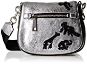 Marc Jacobs Small Gotham Flocked Animals Shoulder Bag