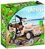 JEEP /24091/ WILLYS MB WITH MINIGUN 95 building bricks by Cobi
