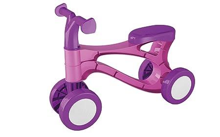 Vélo- trotteur LENA, en plastique, en rose