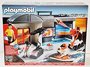 Amazon.com: Playmobil 5085 - Top Agents - Large Agents-Central - Take