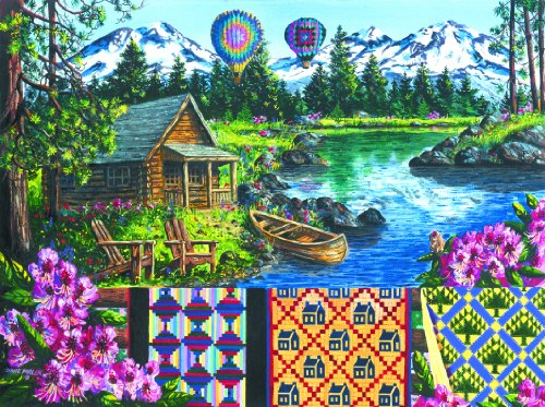 Cheap SunsOut MINI – Floating Over Sisters Mini 7×9 100pc Jigsaw Puzzle by Diane Phalen (B004HSBX0W)
