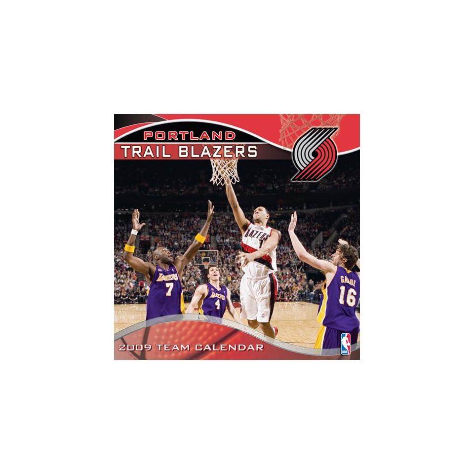 6b3239b39db2e Portland Trail Blazers NBA 12 x 12 Team Wall Calendar on PopScreen