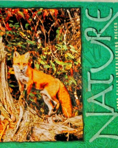 1000pc. Nature Puzzle-Red Fox