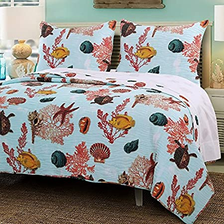 61MJf5F2tvL._SS450_ 100+ Nautical Quilts and Beach Quilts