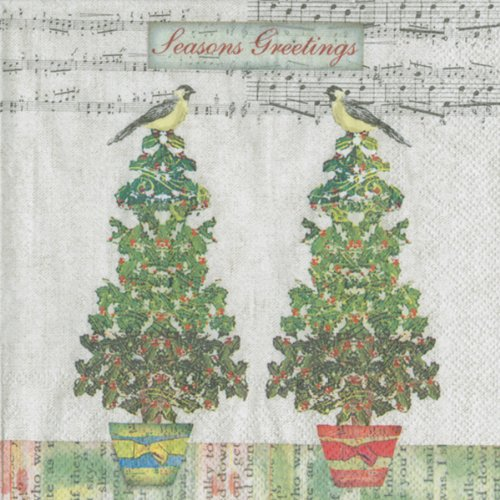 ihr-twitter-birds-servietten-sumptuous-luxus-papier-weihnachten-servietten-neue-20-in-pack
