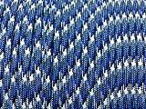 BLUE CAMO Military Grade 550 Paracord 50 Feet