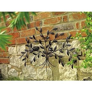 Garden wall art birds nest from Gardman