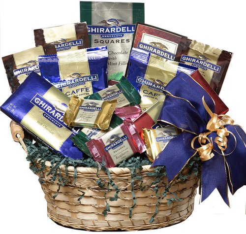 Art of Appreciation Gift Baskets Ghirardelli Chocolate Lovers