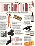 What's Going on Here: The Harper's Magazine Book of Annotations (0385304005) by Harrison, Colin