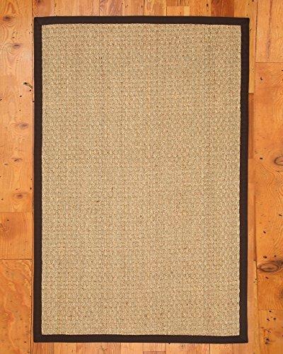 NaturalAreaRugs Lancaster Seagrass Rug, 8' by 10', Mocha