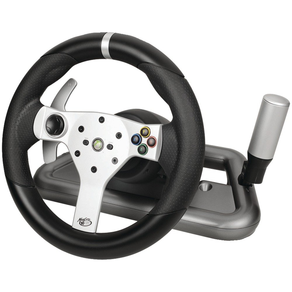 Wireless Force Feedback Racing Wheel for XBox 360 $169.99