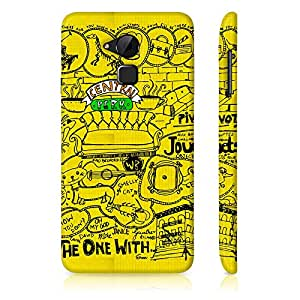 Friends Back Case for Coolpad Note 3