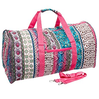 BOHO Travel Gym Cheer Duffel Bag 21""