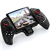 IPEGA PG-9023 Rechargeable Bluetooth Wireless Android Gamepad controller for 5-10 inch tablets and phones, for Android TV,Samsung Galaxy S8 S9 Note Huawei OPPO vivoX21 Android Tablet PC