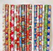 10 X 2M ROLLS CHRISTMAS XMAS WRAPPING PAPER ASSORTED DESIGNS ASOS SANTA BELL XMAS TREES STOCKING RUDOLPH TRADITIONAL