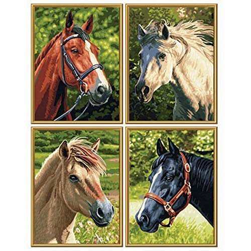 Schipper Horses & Pony Paint-By-Number Paint by Number by Schipper