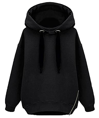 Oversized Black Hoodie Womens Hardon Clothes