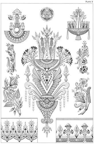Egyptian Motifs In The Art Deco Style Dover Pictorial