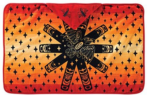 Pendleton Hooded Towel, Raven Sunburst front-350767