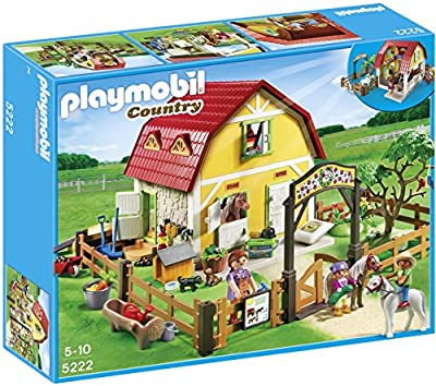 Playmobil 5222 Country Playmobil Children's Pony Farm