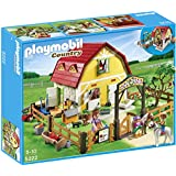 Playmobil - 5222 - Jeu de Construction - Ranch avec Poneys
