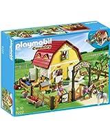 Playmobil - 5222 - Jeu de Construction - Ranch avec Poneys