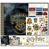 Paper House Productions PLS0005 Harry Potter 12 Month Planner Set includes Stickers Puffy Clips (Tamaño: Journal Set)