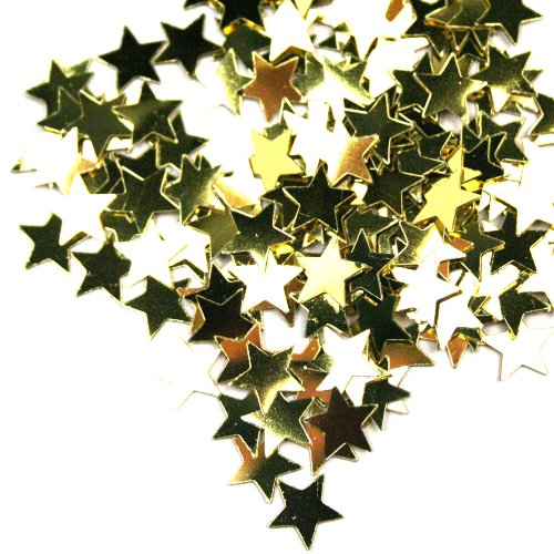Fanci-Fetti Stars (gold) Party Accessory  (1 count) (1 Oz/Pkg) - 1