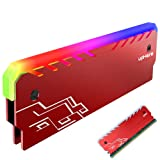 Memory RAM Red Cooler Heat Sink Cooling Vest Fin Radiation Dissipate For DIY PC Game Overclocking MOD DDR DDR3 DDR4