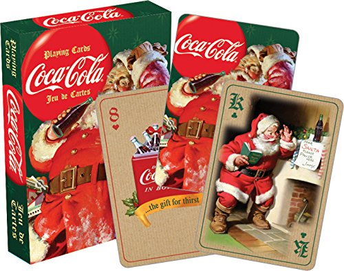 Coca Cola Santa Playing Cards