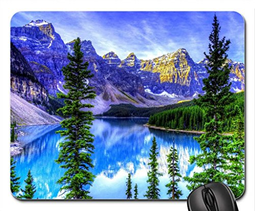 lago-moraine-alberta-del-canada-mouse-pad-tappetino-per-mouse-laghi-mouse-pad