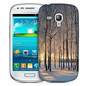 Snoogg House At Night Designer Protective Phone Back Case Cover For Samsung Galaxy S3 Mini