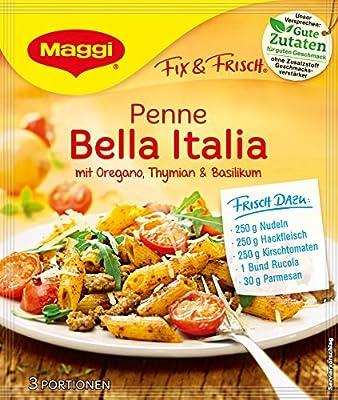 Maggi fix und frisch für Penne Bella Italia, 18er Pack (18 x 27 g) von Maggi - Gewürze Shop
