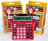 2-pack Big Red Calculator