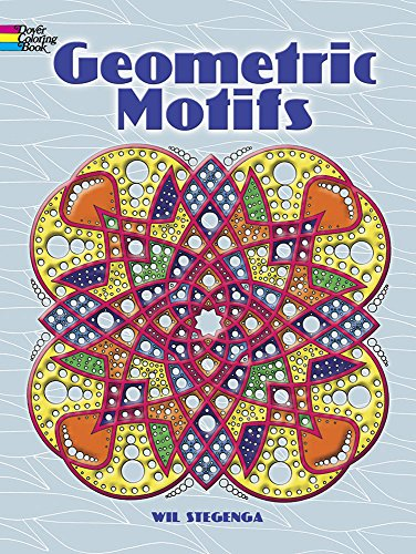 Geometric Motifs (Dover Design Coloring Books)