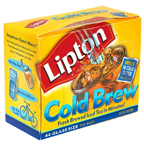 Buy Lipton Cold Brew Glass Size, 44 Tea Bags (Pack of 6) (Lipton, Health & Personal Care, Products, Food & Snacks, Beverages, Tea)